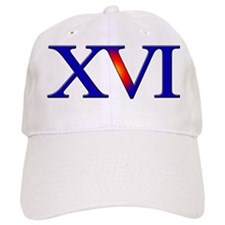 XVI 16th Baseball Cap