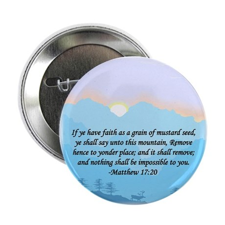 """""""Mustard Seed"""" 2.25"""" Button (100 pack)"""