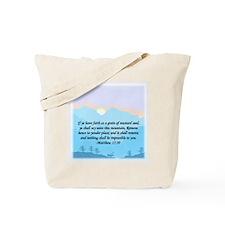 """""""Mustard Seed"""" Tote Bag"""
