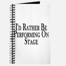 Rather Perform On Stage Journal