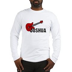Guitar - Joshua Long Sleeve T-Shirt