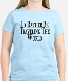 Rather Travel The World T-Shirt