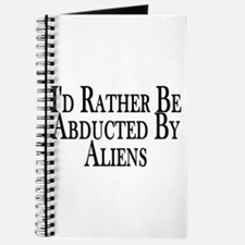 Rather Be Abducted By Aliens Journal