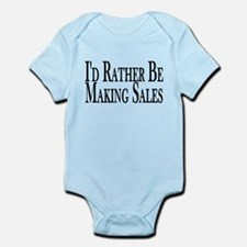 Rather Make Sales Infant Bodysuit