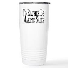 Rather Make Sales Travel Mug