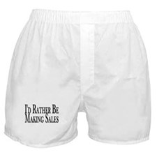 Rather Make Sales Boxer Shorts