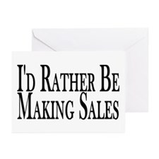 Rather Make Sales Greeting Cards (Pk of 10)