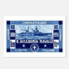 1931 Italian Naval Academy Postcards (Package of 8