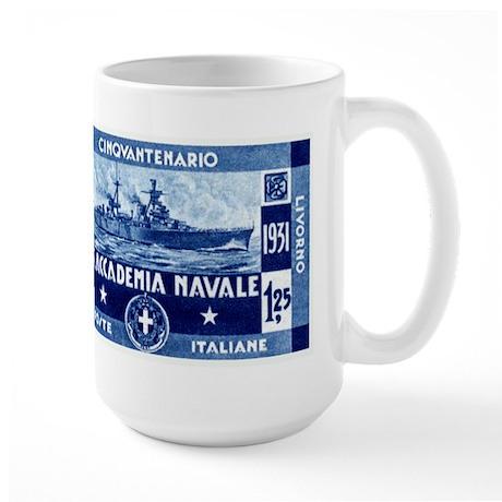 1931 Italian Naval Academy Large Mug