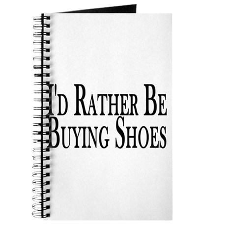 Rather Buy Shoes Journal