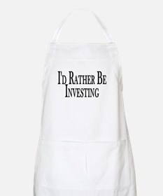 Rather Be Investing BBQ Apron