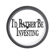 Rather Be Investing Wall Clock