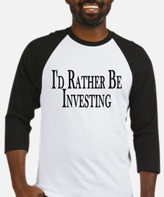 Rather Be Investing Baseball Jersey