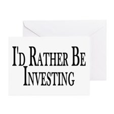 Rather Be Investing Greeting Cards (Pk of 10)