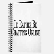 Rather Be Chatting Online Journal