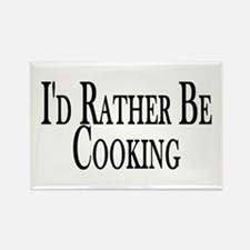 Rather Be Cooking Rectangle Magnet (100 pack)