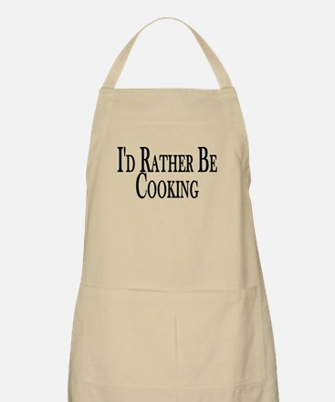 Rather Be Cooking BBQ Apron