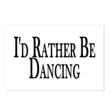 Rather Be Dancing Postcards (Package of 8)