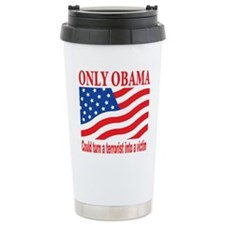 Anti Obama Ceramic Travel Mug