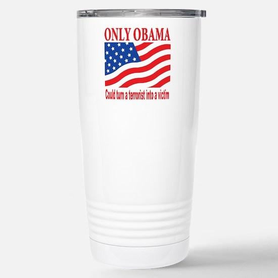 Anti Obama Stainless Steel Travel Mug
