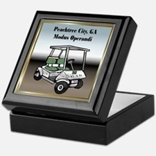 Peachtree City Keepsake Box