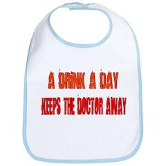 A DRINK A DAY Bib