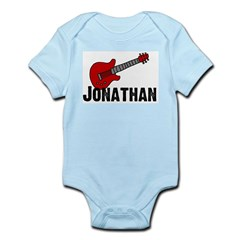 Guitar - Jonathan Infant Creeper
