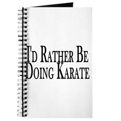 Rather Do Karate Journal