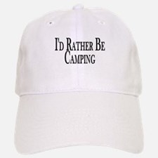 Rather Be Camping Baseball Baseball Cap