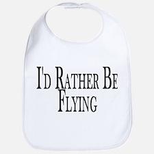 Rather Be Flying Bib