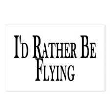 Rather Be Flying Postcards (Package of 8)