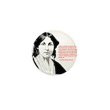 Alcott women quote Mini Button