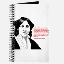 Alcott women quote Journal