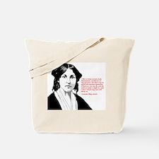 Alcott women quote Tote Bag