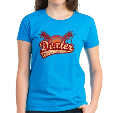 'Vintage' Dexter Women's Dark T-Shirt