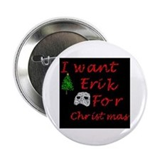 "Erik for Christmas 2.25"" Button (100 pack)"