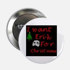 """Erik for Christmas 2.25"""" Button (100 pack)"""
