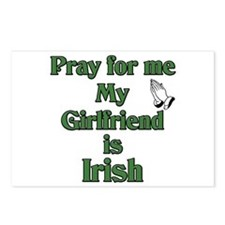 Pray for me My Girlfriend is Postcards (Package o
