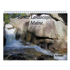 Scenic Landscapes of Maine Wall Calendar