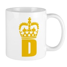 D - character - name Mug