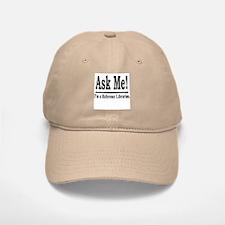 Ask Me! I'm a Reference Libra Baseball Baseball Cap