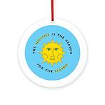 Solstice Ornament (Round)