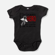 Bravest Hero I Knew Brain Tumor Body Suit