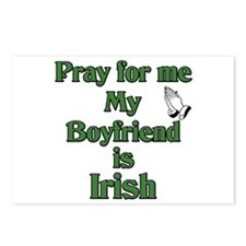 Pray for me My Boyfriend is I Postcards (Package o