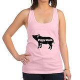 Pig Womens Racerback Tanktop