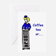 Stewardess Greeting Cards (Pk of 20)