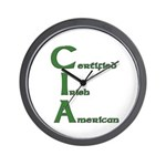 Certified Irish American Wall Clock