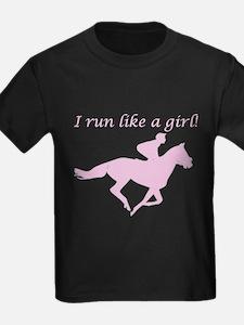 10x10_apparelracehorsepink T-Shirt
