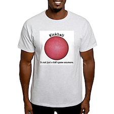 Kickball Ash Grey T-Shirt