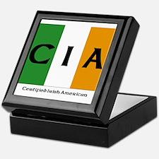 Certified Irish American Keepsake Box